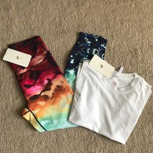 NWT Fabletics Workout Set
